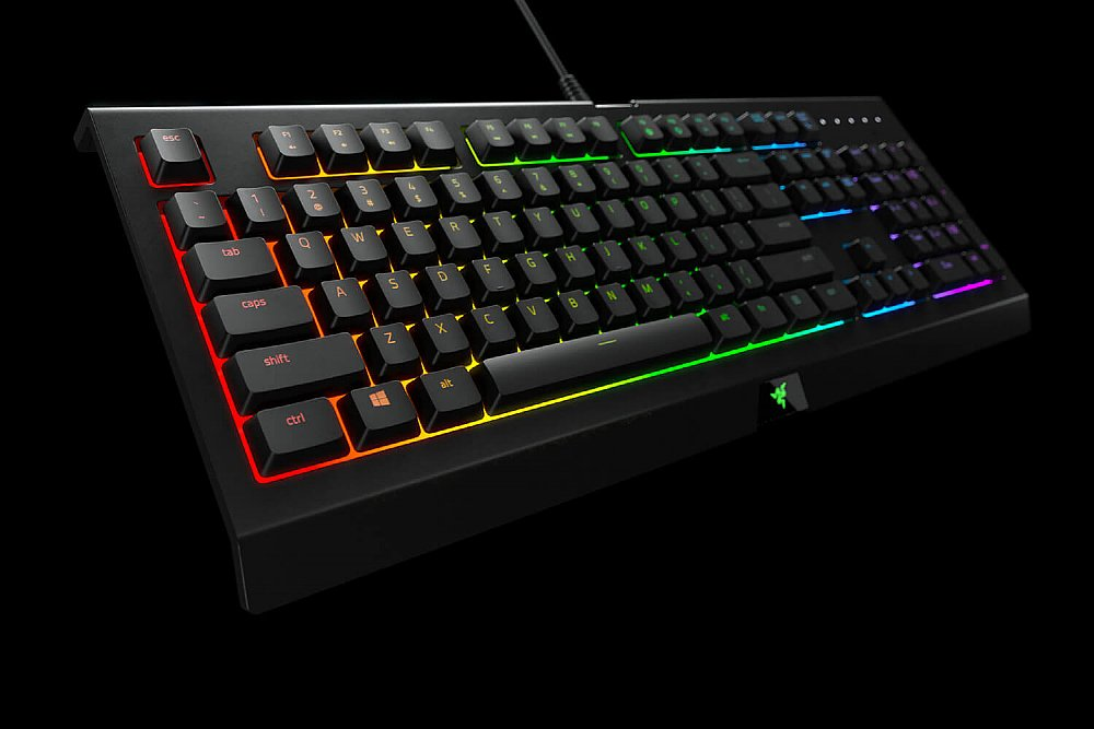 Razer Cynosa Chroma: Spill-Resistant Design - Individually Backlit Keys  with 16 8 Million Color Options - Ultra-Low Profile Switch - Gaming Keyboard