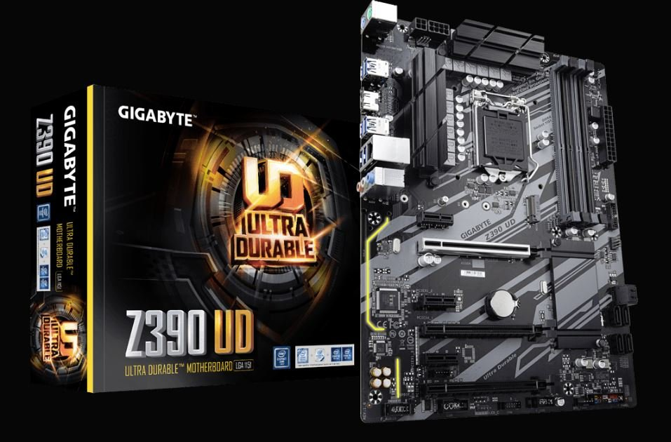 Gigabyte Intel Z390 UD ATX Motherboard with Z390 Chipset Socket H4 LGA-1151