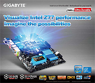 3rd Gen Ivy Bridge Motherboards from Gigabyte